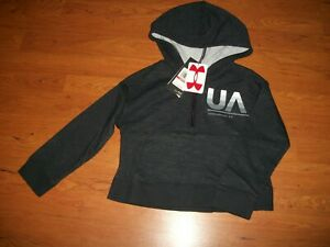 NWT girls youth Under Armour hoodie size YXS crop hoodie $15.74