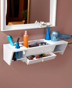 Wall-Mounted Over-the-Toilet Toiletries, Makeup, Space saver Shelves