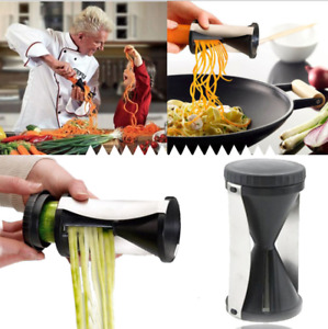 Handheld Spiral Grater Vegetable Slicer Device Kitchen vegetable slicer