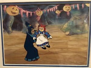 The Adventures Of Raggedy Ann And Andy Original Cel $40.00