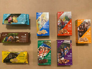 Girl Scout Cookies 2020! Vegan varieties included! FINAL YEAR FOR THANKS A LOT!