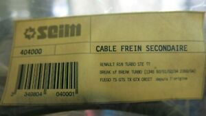 Renault 18 Fuego Secondary Hand Brake Cable Right Cable De Frein 7704002273 $50.00