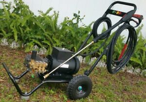 Electric Commercial Residential Pressure Washer 3000psi 5HP Motor