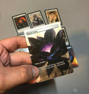 :: Power 9 Set :: Full Art :: Magic Cards for MtG Cube EDH
