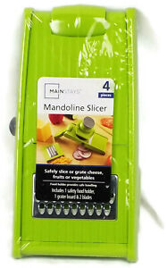 MANDOLINE SLICER Safely  Smooth Slice Grate Cheese Fruits Vegetables