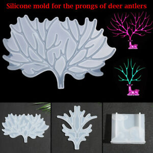 Epoxy Handmade Craft Jewelry Display Rack Mold Silicone Molds DIY Resin Mould