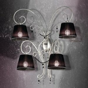 Applique Classic Of Design Silver With Shades Coll. Bell Venice 1801A4L