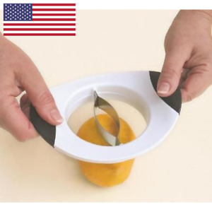 NEW Mango Slicer Fruit Cutter Kitchen Tool Stainless Splitter USA Seller