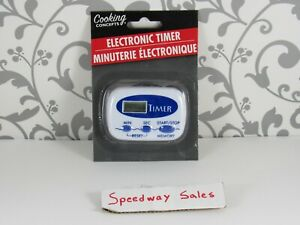 (bin1) Electronic Timer Kitchen (blue) - 1 Pc,(Cooking Concepts) - US SELLER