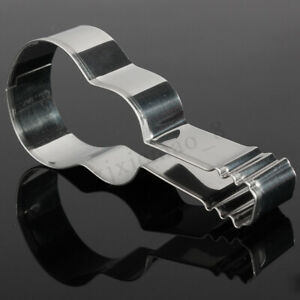 Stainless Steel Guitar Cookie Cake Biscuit Pastry Cutter Fondant  Mould Tools