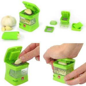 Kitchen Innovations Garlic-A-Peel Garlic Press, Crusher, Cutter, Mincer, And Sto