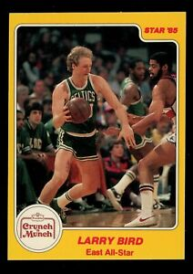 1984 Star Crunch 'n Munch #2 Larry Bird. NM MT, Boston Celtics