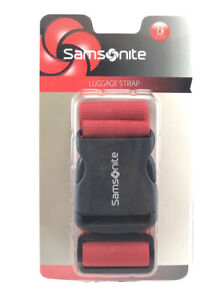 Samsonite Luggage Strap Belt for Travel Bag Cranberry . New Sealed $14.99