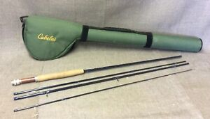 Blest In The West Rx6 590-4 Blue 4pc Fly Fishing Rod W Green Case