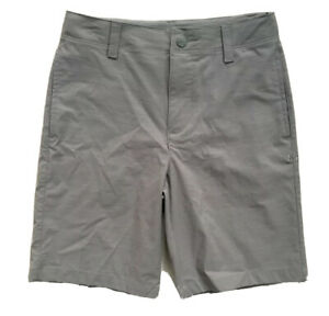 UNDER ARMOUR Boys Golf Shorts HeatGear Casual Dress Grey NWT YOUTH SIZE 4 6 7 $24.99