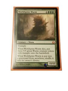 Worldspine Wurm x1 Return to Ravnica MTG NM *Rare*