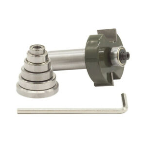 Sabre Rabbet Router Bit & Bearings Set For Woodworking 1/2
