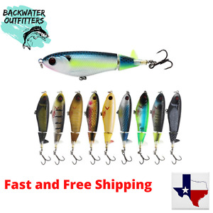 Whopper Plopper Prop Minnow 105 Top Water Lure 4 1 8quot; X 1 2 oz See Video