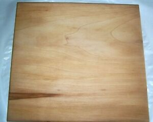 Handmade Sycamore Wood Square Cutting Board $25.00