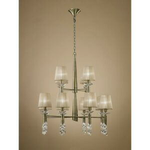Suspended Lights Modern Design Crystal With Shades Man tiffany-3870