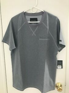 JAANUU Men Heathered Grey Scrubs Set Brand New Size Medium Kent Collection