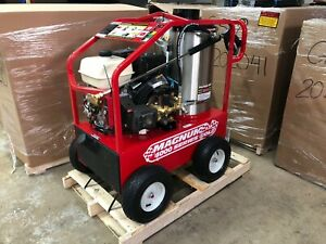 NEW- 2020 Easy-Kleen Magnum 4000 Series Hot Water Pressure Washer Diesel Burner