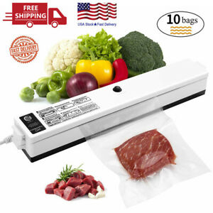 Vacuum Sealer Machine Automatic Air Sealing System for Food Storage with 10 Heat