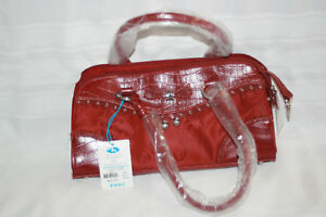 Satchel nwt $ 41.25 Red 12 7 3 Marlo handbags 4 supports under bag $5.00