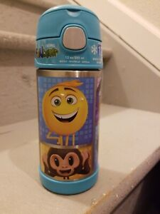 NEW Thermos Funtainer 12 Ounce Bottle, Emoji