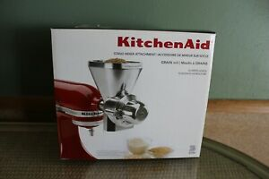 KitchenAid All Metal Grain Mill Attachment KGM - Brand New!