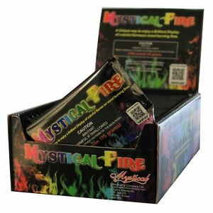 Mystical Fire Flame Colorant pack Color Change, 25 Count Pouch Box