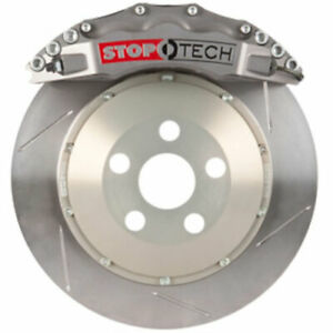 StopTech 83-1606D00R1 Front Big Brake Kit 380mm x 35mm 2 Piece Slotted Rotors ST