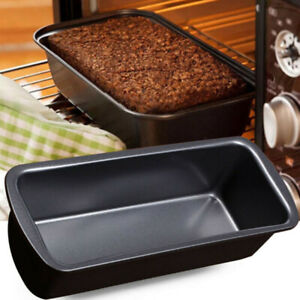 Mould Bread Tray Black Carbon Steel Home Bread Tin Oven Tray Universal