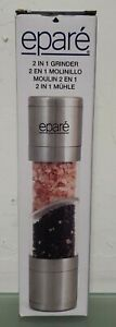 NEW EPARE 2-in-1 Salt and Pepper Grinder, New In Box, FabFitFun Free Shipping!!