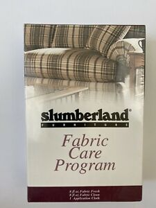 Slumberland Furniture Fabric Care Program Kit Sealed Box