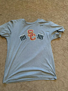 USC Trojans Nike Football Shirt Large Team Issued #26 Dri Fit Conditioning $300.00