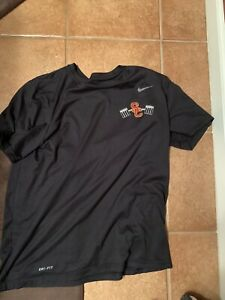 USC Trojans Nike Football Shirt Large Team Issued #44 Dri Fit Conditioning $300.00