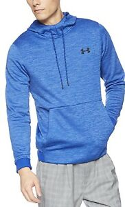 Under Armour Mens Fleece Cold Gear Pullover Hoodie Blue Small 1320751 400 NEW $27.00