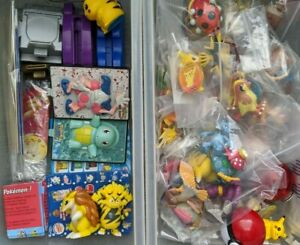 MULTI LISTING 1990s vintage original Pokemon figures toys TOMY Burger King Sasco