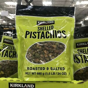Shelled Pistachios Kirkland Signature Certified Kosher Dry Roasted And Salted