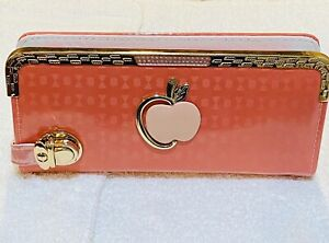 Luxary Womens Fashionable Peach Pink Purse