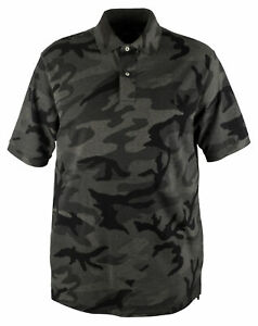 Polo Ralph Lauren Men#x27;s Big and Tall Camouflage Polo Shirt