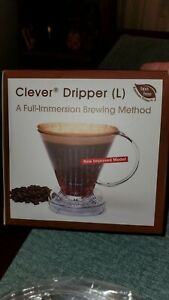Clever Dripper Coffee Maker Immersion Brewing Large New