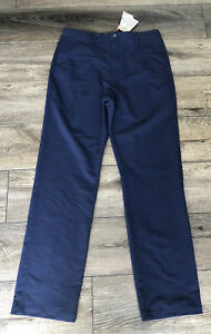 NWT Boy's Under Armour Golf Pants Navy Blue Size Youth Extra Large XL New $24.99