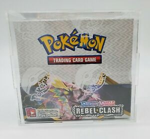 Pokemon Booster Box Acrylic Case Framing Display Quality Original Case Only $27.95