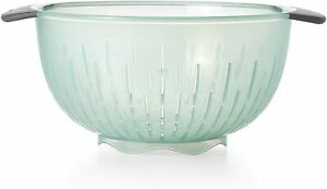 OXO Good Grips 5 Quart Colander in Sea Glass US