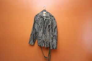 Vintage Ideal Gray Standing Timber Camo Hunting Jacket XL and Pants 38x31 USA