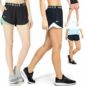 NEW Under Armour Womens Athletic Play Up 3.0 Quick Dry Lightweight Shorts $24.95