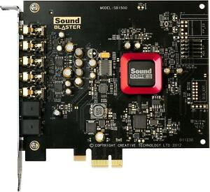 Crative Sound Blaster SB1500 ZPCIe Gaming Sound Card Card only $49.99
