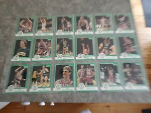 1984 Star Larry Bird 18 Card Set Green Limited Boston Celtics mint